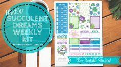 Y'all. I love this kit. I don't know if I've been this happy with any of the other stickers I've released. It's so pretty! With all of the snow that we've gotten…