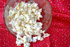 Single Serving Cake Batter Popcorn