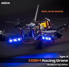 HeliPal.com - STORM Racing Drone (RTF / Type-A) http://www.helipal.com/storm-racing-drone-rtf-type-a.html #QAV250
