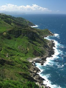 S and C Travel Blog on the rugged coastline and fish restaurants in the Basque Region