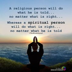 A Religious Person Will Do What He Is Told - spirituality Positive Affirmations, Positive Quotes, Motivational Quotes, Inspirational Quotes, Strong Quotes, Quotable Quotes, Wisdom Quotes, Esprit Yoga, Spiritual Wisdom