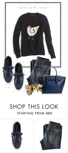 """""""Fall Classics"""" by jcrewchick ❤ liked on Polyvore featuring J.Crew and Pepe Jeans London"""