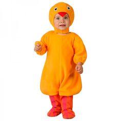 Disfraz de pollito para bebés de 0 a 12 meses