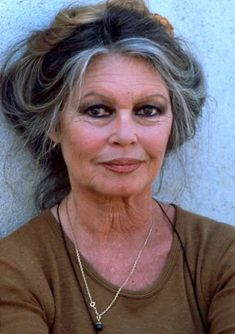 """""""What could be more beautiful than a dear old lady growing wise with age? Every age can be enchanting, provided you live within it.""""- Brigitte Bardot"""
