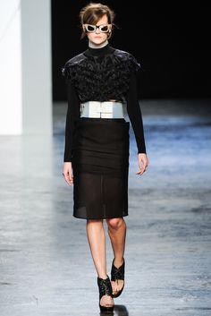 Acne RTW A/W 2012/13.  Model - Sara Blomqvist.