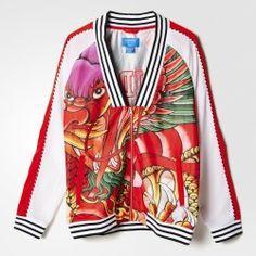 Chaquetas Adidas Rita Ora Dragon Print Track Jacket mujer