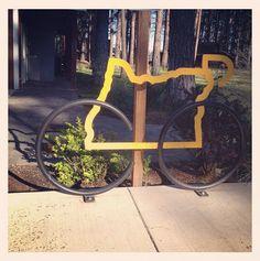 Bikes + Oregon. I love bikes and im from Oregon :)