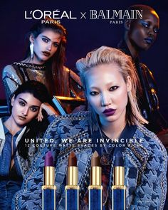 ROCK TRIBE. Unveiling a capsule collection of 12 couture matte shades by Color Riche, designed for every complexion. Available in September…