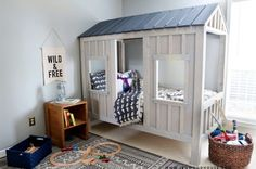 How to build a DIY cabin bed - Jen Woodhouse