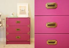 Ikea Rast Turned Campaign Chest | IKEA Hackers Clever ideas and hacks for your IKEA