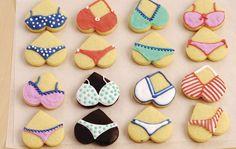 Bikini-Guetzli - Alle Zutaten bereitstellen....