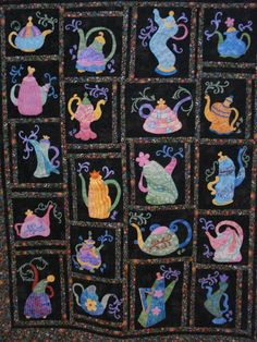 Snippets of a Quilter  This looks so familiar, like on my grandma did!  @Rochelle Holmes @Deb Holmes