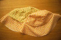 #Tutorial cappellino parasole #bambinipiccoli - http://www.amando.it/mamma/neonato-bambini-piccoli/tutorial-cappellino-parasole.html