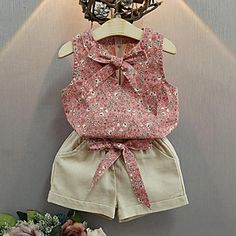 Cheap girls summer sets, Buy Quality suit kids directly from China girls clothing sets Suppliers: Baby Girl Clothes Fashion Cartoon Girls Summer Set Clothes Baby Suits Kids T Shirt +Pants Children Girl Clothing Set Fall 2017 Girls Fashion Clothes, Girl Fashion, Fashion Outfits, Girl Clothing, Style Fashion, Fashion Shorts, Fashion 2014, Classy Fashion, Trending Fashion