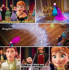 Elsa ,Anna and Hans the duke of weaseltown