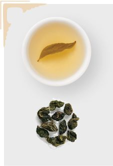 Oolong Tea  The origins of oolong tea trace back to Taiwan and southeast China. Oolong gains its alluring character when the tea leaves are withered and briefly oxidized in direct sunlight. As soon as the leaves give off a distinctive fragrance — often compared to the fresh scent of apples, orchids or peaches — this stage is halted.