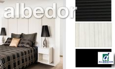 Albedor Bedroom Panels in Hacienda White featuring Side Tables in Satin Royal Oyster Decorative Panels, Side Tables, Beautiful Homes, Entryway, Satin, Doors, Bedroom, Furniture, Home Decor