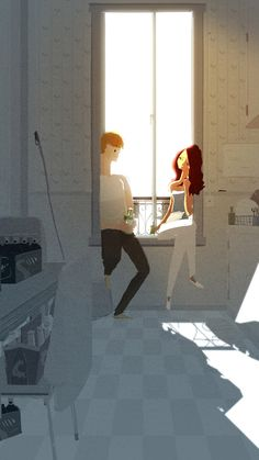 Getting to know you by PascalCampion.deviantart.com on @deviantART