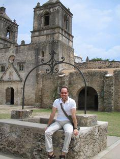 Walter en las Misiones de San Antonio, Texas - 2007