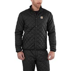 Carhartt Mens YUKON Insulated Quilted Base Layer TOP or BOTTOM [CADS-2315/2316]