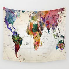 Cheap map tapestry, Buy Quality world map tapestry directly from China tapestry map Suppliers: Polyester Wall Hanging World Map Tapestry Indian Mandala Throw Blanket Bedspread Home Dorm Living Room Decoration World Map Tapestry, Bohemian Bedspread, Bohemian Tapestry, Water Color World Map, Indian Tapestry, World Map Wall, World Map Decor, Tapestry Wall Hanging, Map Art