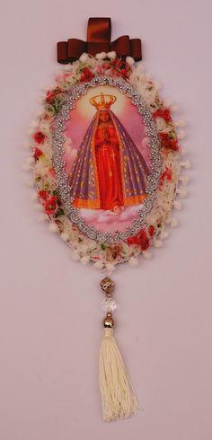 Medalhão de Nossa Senhora Aparecida                                                                                                                                                                                 Mais