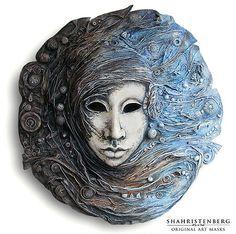 The Wind. 2011 Nadine Shahristenberg. #art #mask