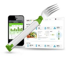 Track Your Eating With Smart 'Hapifork', an electronic fork that will monitor your eating habits and tell you when you might want to take a breather with that pasta dish