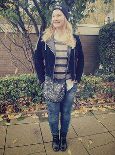 #Leather #Biker #Jacket #Mango #Lederjacke #Blouse #white #weißes #Hemd #Beanie #Gina #Tricot #Striped #Sweater #Primark #Jeans #Zara #Boots #Görtz17 #Bag #Butterfly #Swag #curvy #curve #girl #women #woman #fat #big #fashion #mode #blog #life #lifestyle #plus #size #plussize #Übergrößen #dick #frau #frauen #kurven #kurvig #inbetweener #inbetweenie #inbetween #fatshion #plussize