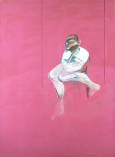 Francis Bacon - Study for a Portrait of John Edwards, unfinished Francis Bacon, John Edwards, Robert Motherwell, Sad Art, Mark Rothko, Paul Gauguin, Mood, Sculpture, Art Sketchbook