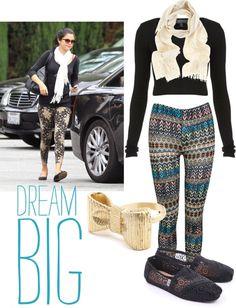"""Selena Gomez Street Style"" by hairshortlegslong on Polyvore"