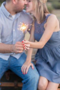 sparklers and kisses | TréCreative Film & Photo | Glamour & Grace
