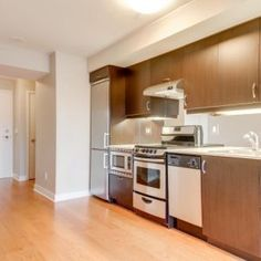 Step Into This Remarkable One Bedroom Plus Den With Baths! Master Bedroom Features A Walk-In Closet And Ensuite Bath. Brown College, St Lawrence, Walk In Closet, One Bedroom, Laminate Flooring, Distillery, Square Feet, Baths, Den