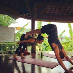 partner yoga fun www.sacredpathsyoga.com