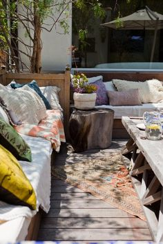 bohemian style outdoor