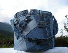 """Weiteres - Gartentasche Werkzeugtasche """"Upcycling"""" - ein Designerstück von Gasani bei DaWanda"""
