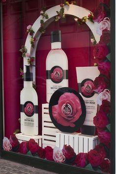 The Body Shop - British Rose - Retail Focus - Retail Blog For Interior Design and Visual Merchandising