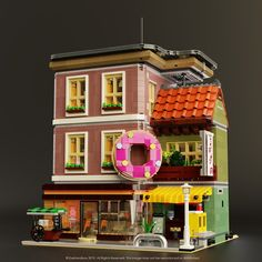 Reports, news, pics, videos, discussions and documentation from a studded world. /r/lego is about all things LEGO®. Lego Modular, Lego Store, Shop Lego, Lego Design, Modele Lego, Box Container, Container Homes, Doughnut Shop, Lego Moc