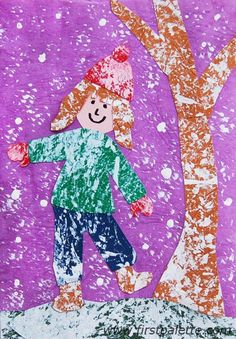 snowing self portraits