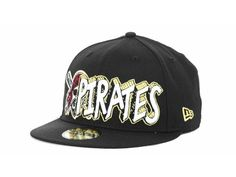 Pittsburgh Pirates New Era MLB The Ice 59FIFTY Hats