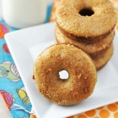 Baked Apple Cider Donuts | foodraf