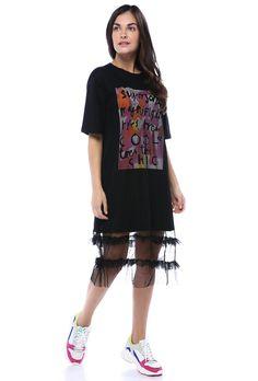 Baskı Detaylı Tül ElbiseModelin Ölçüleri : 1.74 cm / 36 BedenModelin Üstündeki Beden :Small The Dress, Tulum, Shirt Dress, T Shirt, Dresses, Fashion, Supreme T Shirt, Vestidos, Moda