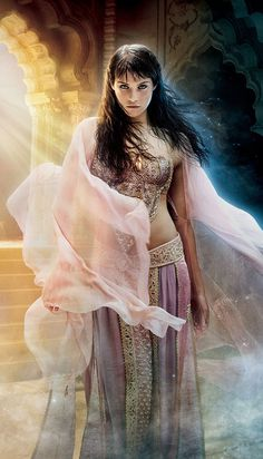 """Gemma Arterton as Tamina in """"Prince of Persia: The Sands of Time"""" (2010)"""