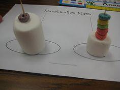 First Grade Wow: Marshmallow Math