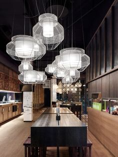 Kent Hahne, successful restauranteur and cofounder of restaurant chain Vapiano, launched GinYuu, his latest concept restaurant, in late 2013.  ~ Great pin! For Oahu architectural design visit http://ownerbuiltdesign.com
