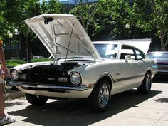 1971 Ford Maverick Grabber '584 GDD' 1 by Jack Snell., via Flickr