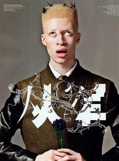 Shaun Ross - Military Portraits, shot by Li Qi. Gq Fashion, Best Mens Fashion, Fashion Trends, Shaun Ross, China Funny, Stephen Thompson, African American Models, Military Looks, Photoshoot Concept