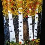 Elegant fused glass art is handcrafted by layering glass and then fusing it together to form a solid piece that is made into many types of art. Fused Glass Jewelry, Fused Glass Art, Glass Artwork, Types Of Art, Hello Everyone, Aspen, Home Accents, Diy Crafts, Candles