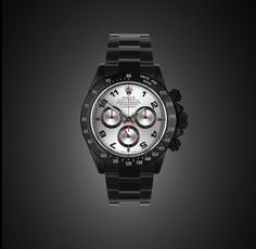 BLACK-OUT ROLEX DAYTONA ARABIC RACING by PROJECT X
