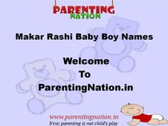 Best Of Makar Rashi Baby Boy Names With Meaning 7 Ideas On Pinterest Names With Meaning Baby Boy Names Modern Names